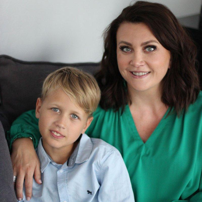"""Camilla Läckberg och sonen Charlie: """"Vi jobbar fram böckerna tillsammans"""""""