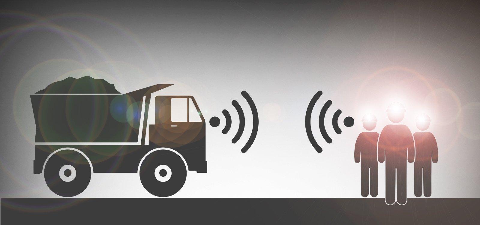 <p>Sensores instalados no equipamento e usados pela equipe aumentarão a segurança nas minas subterrâneas.</p>