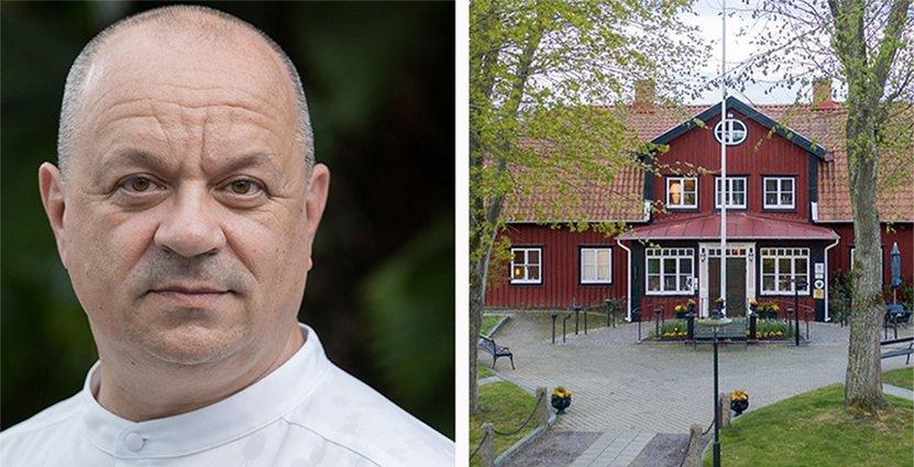 Som ny kökschef på Stufvenäs Gästgiveri ser Dragan Unic <br /> fram emot att arbeta med lokala producenter.  Foto: Martin Adolfsson och Rickard Cullefors.
