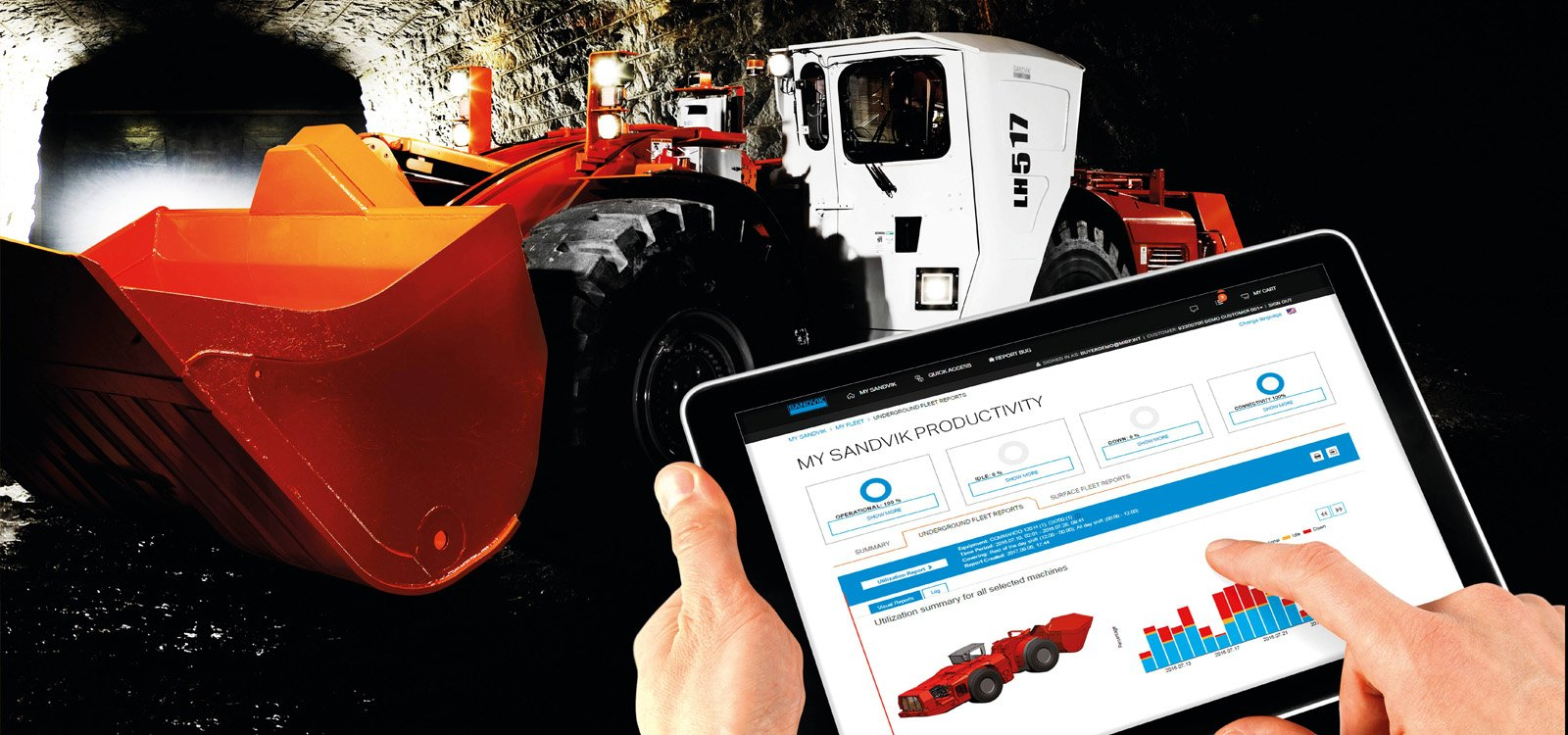<p>Sandvik has introduced the My Sandvik digital service solutions to help with productivity and provide useful insights into making operations more efficient.</p>
