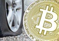 Luften ur för bitcoin – priset faller under 8 000 dollar
