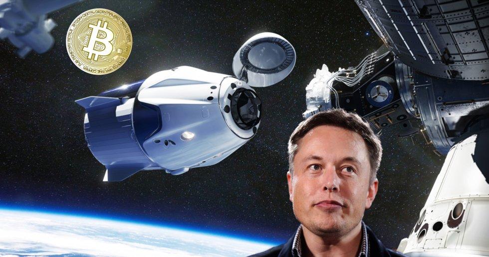 Elon Musks stora avslöjande: Spacex äger bitcoin