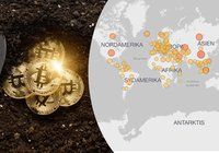 En region i Kina står för 35 procent av all datorkraft som används för bitcoinmining
