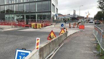 Grafiska Vägen stängs i sju veckor