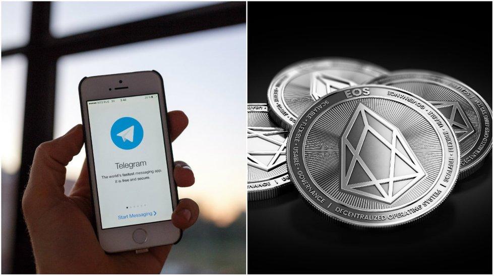 EOS has passed Litecoin in market cap and Telegram might cancel its public ICO.