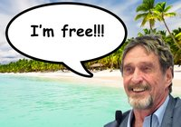 John McAfee has been set free – was arrested on a yacht full of weapons