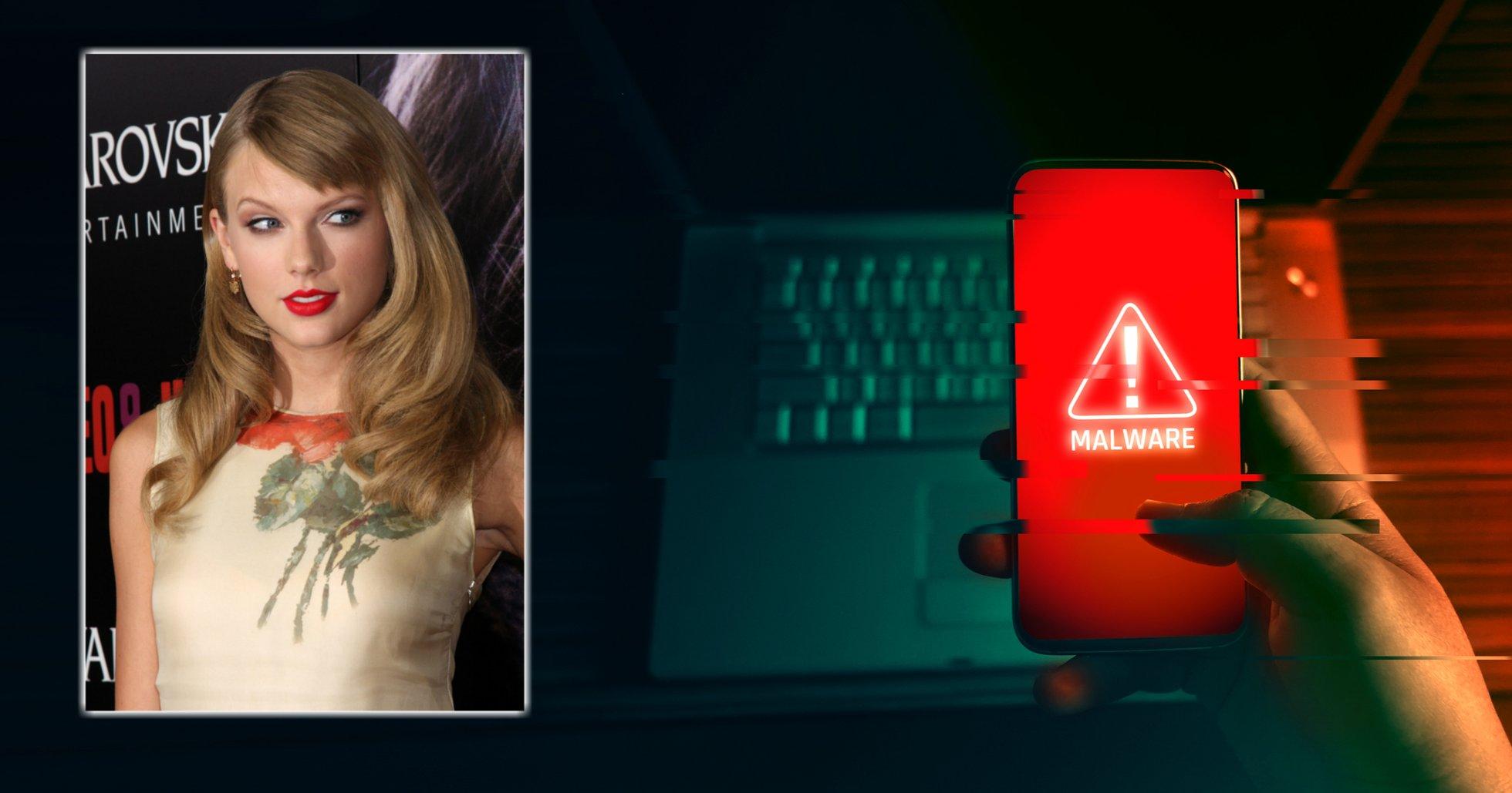 Dolt virus bakom bild av Taylor Swift – mineat monero för tre miljoner dollar