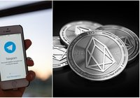 Daily crypto: EOS passed Litecoin in market cap and Telegram might cancel ICO