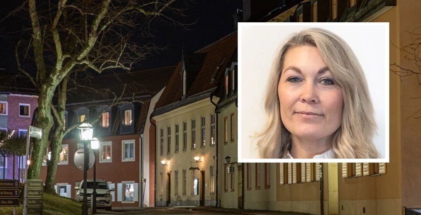 Charlotta Stenberg, näringslivskoordinator på Enköpings kommun. Foto: Monique Zethraeus / Emma Larsson