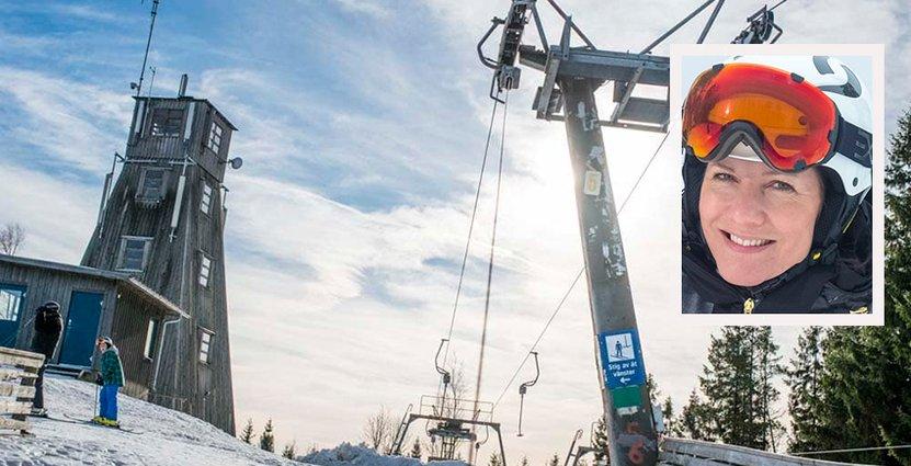 Isaberg behöver minusgrader för att kunna öppna skidanläggningen. Foto: Isaberg Mountain Resort