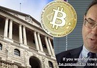 Storbritanniens nya centralbankschef: Vill du köpa bitcoin? Var beredd på att förlora allt