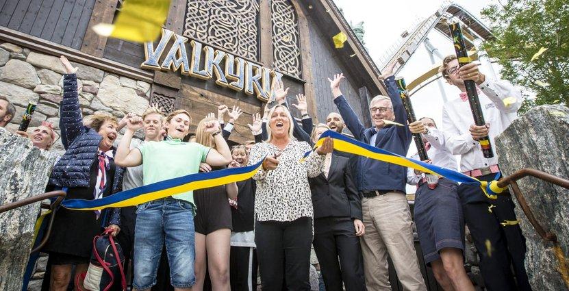 Valkyria invigdes för tio dagar sedan. Foto: Liseberg