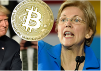 Crypto critic Elizabeth Warren challenges Donald Trump in the 2020 US presidential race