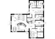 Se planritning för Villa Sundsta