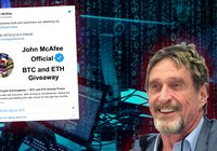 Crypto scammer's new method: Pretends to be John McAfee