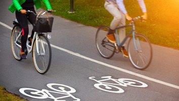 Cyklister påverkas av vägbygge