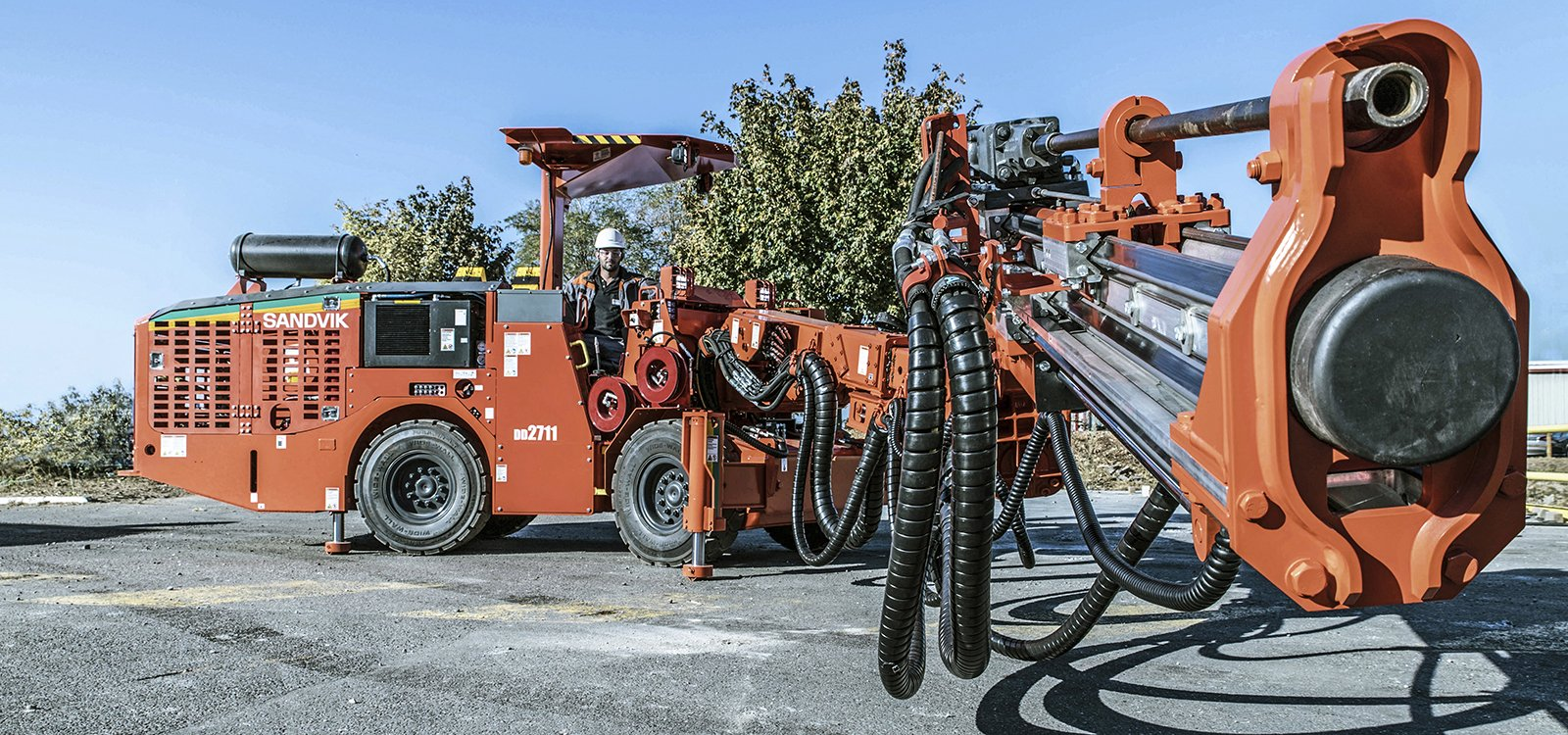 <p>The Sandvik 2711 class are a new family of narrow-vein drills.</p>
