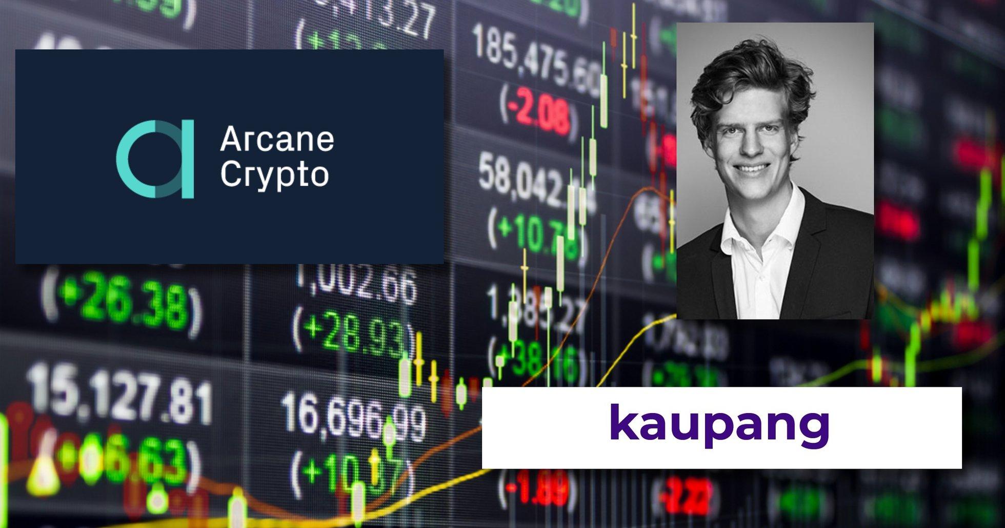 Arcane Crypto köper den norska kryptoväxlaren Kaupang