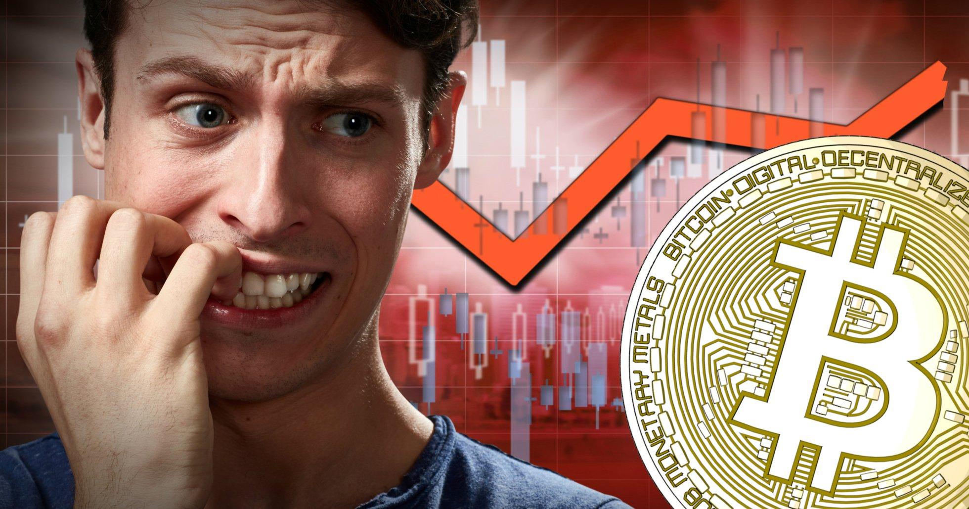 Bitcoinpriset faller – har gått ner nästan 10 procent under det senaste dygnet.