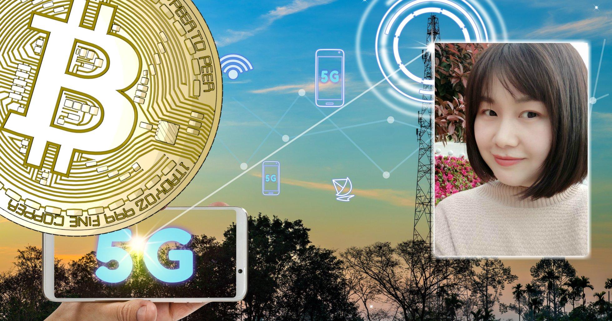 Justina Zheng: 5G är bra – kombinerat med blockchain är det revolutionerande.