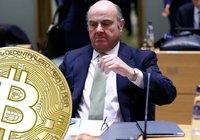 Högt uppsatt centralbankschef: Bitcoin är ingen riktig investering