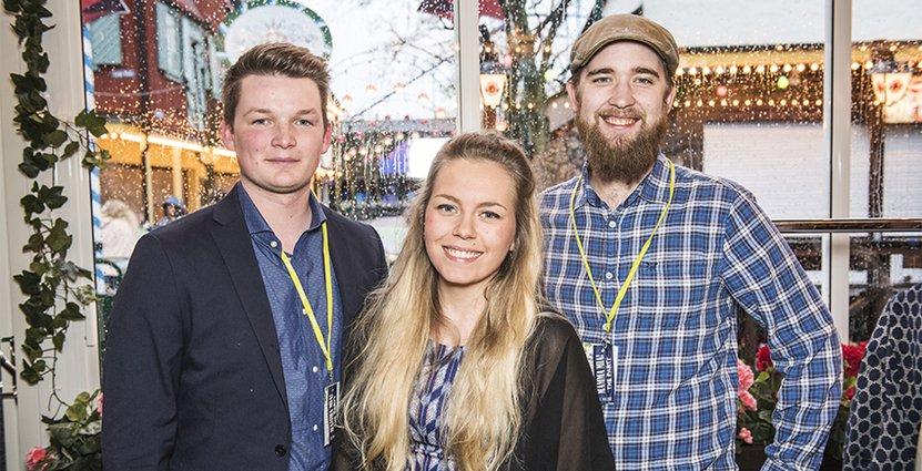 Carl Svedberg, Tages konditori, Anna Danielsson Koivula, Edenbos konditori och Gustav Kristiansson, Pizza Hut.