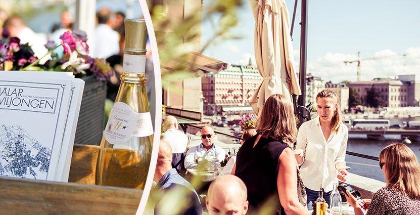 Många gäster förknippar rosévin med sommaren, som snart är på intågande.  Foto: Annika Goldhammer