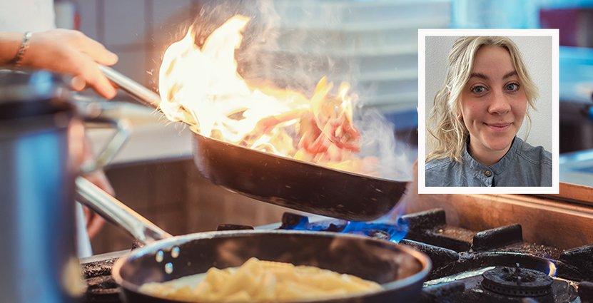 Mimmi Månström valde att följa sin dröm och utbilda sig till kock <br /> – mitt under pandemin. Foto: Colourbox/Sara Olsson