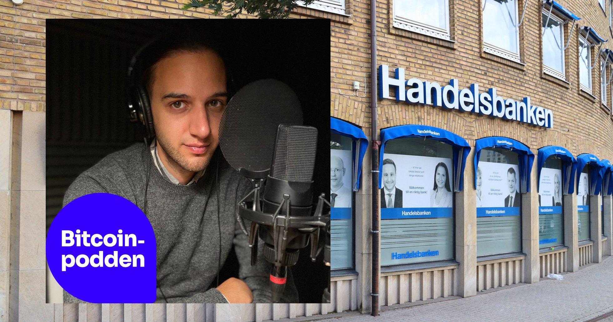 Eric Walls känga mot svenska bankers kryptomotstånd.