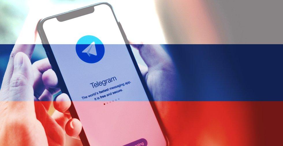 Efter två år långa förbudet: Nu är chattappen Telegram tillåten i Ryssland igen