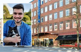 """""""Comfort Hotel har en betydelse både i mitt privatliv och arbetsliv"""""""