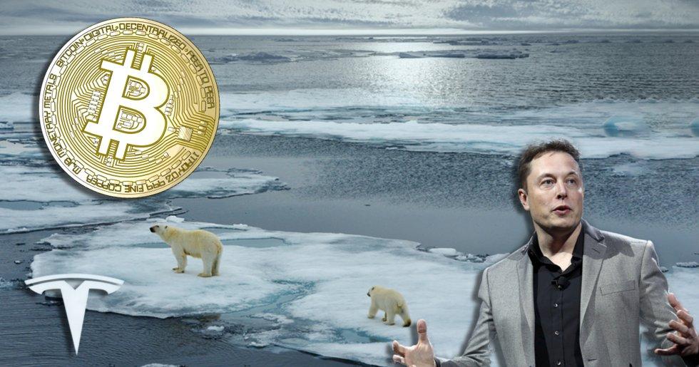 Klimatkritik mot Teslas bitcoinsatsning: