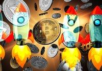 Bitcoin närmar sig 10 000 dollar – altcoinsen ökar stort