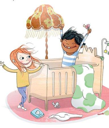 Sagasagor bjuder på igenkänning för våra 5-åringar
