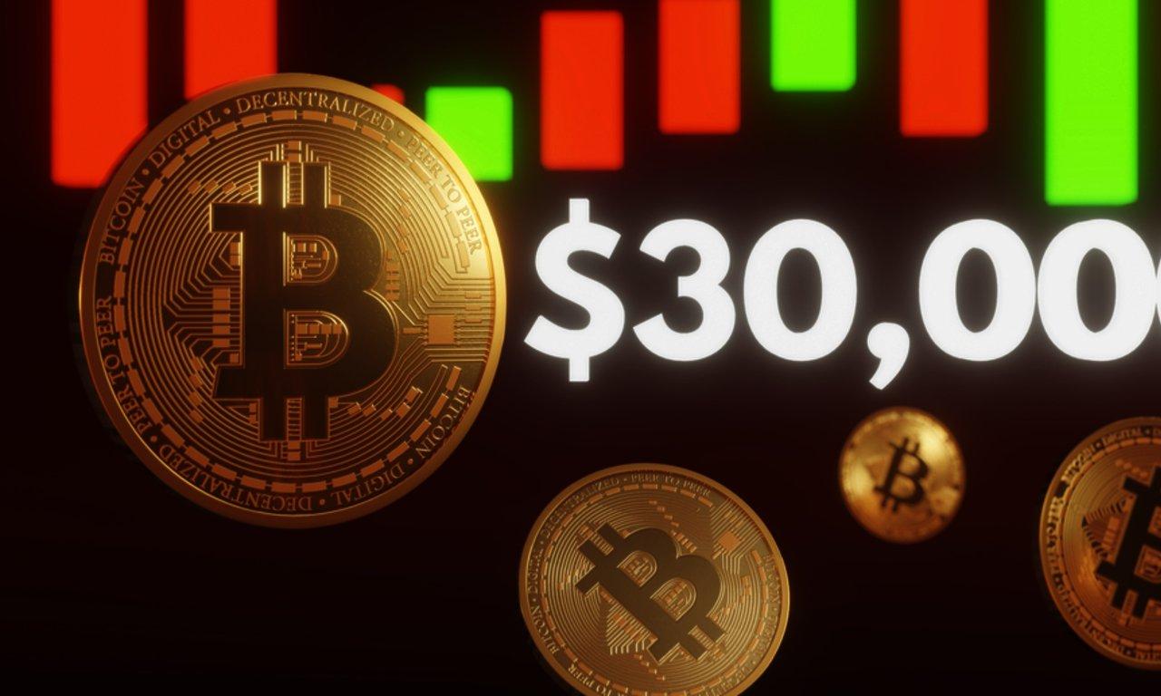 Bitcoinpriset sjunker under 30 000 dollar – har tappat nästan 15 procent