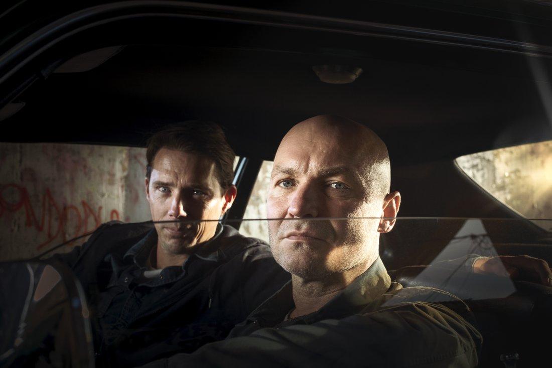 Författarna bakom Kung Pow heter Ola Lindholm och Johan Lindqvist. Foto: Stefan Tell