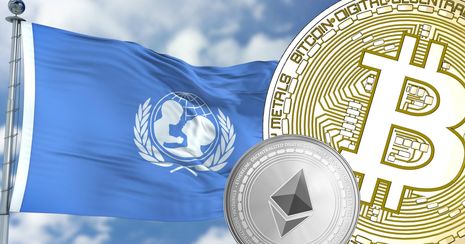 Unicef lanserar kryptofond – kan nu ta emot donationer i bitcoin och ethereum.
