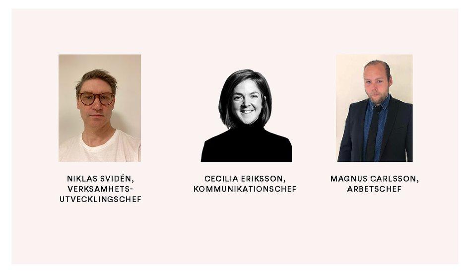 Åke Sundvall rekryterar trio