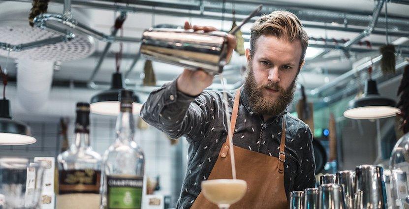 Erik Åreng kammade hem vinsten i den nordiska bartävlingen under Oslo Bar Show.