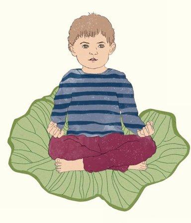 5 sagolika yogaövningar för ditt barn