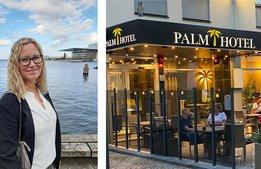 Nyöppnade Palm Tree Hotel bjuder barn på julfirande