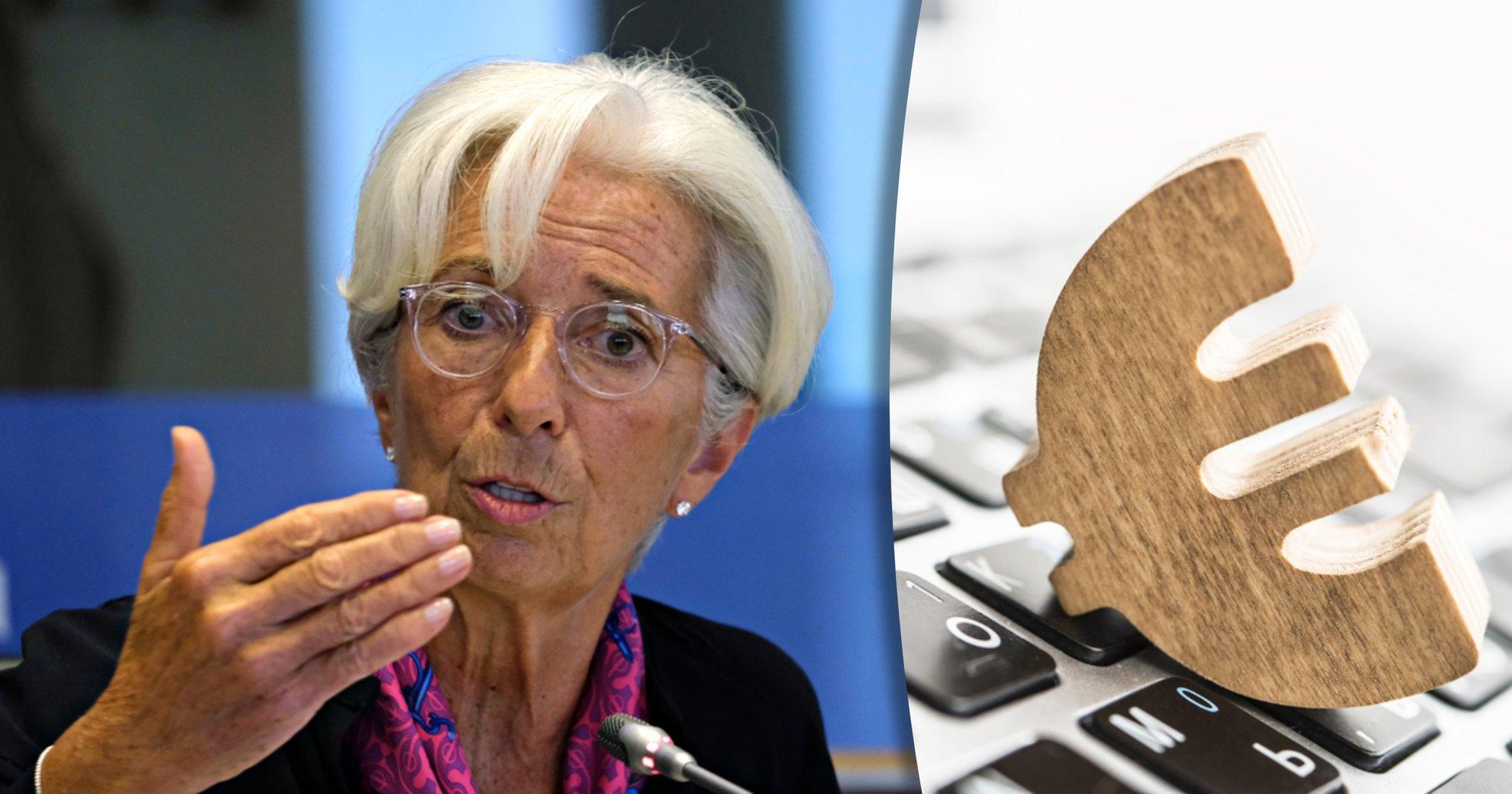 ECB: Besked om lansering av en digital euro kommer i januari