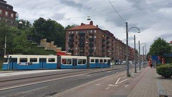 Avstängd Chalmerstunnel påverkar spårvagnstrafik