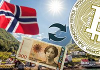 Norwegian bitcoin exchange got its bank account shut down – revenue still increased by 1,000 percent