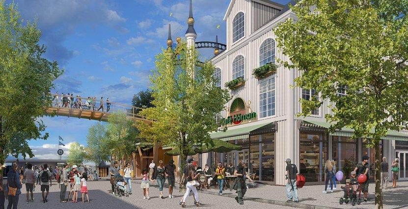 Gröna Lund vill bygga ut med 8 000 kvadratmeter, det blir den största investeringen i nöjesparkens historia. Foto: Gröna Lund