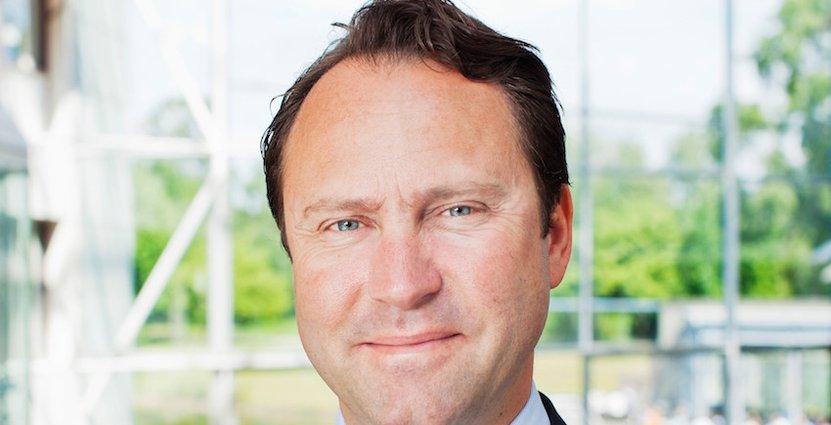 """""""Jag tycker helt enkelt att det är roligt att vara ledare, jag trivs i rollen att utveckla vår personal"""", säger Johan Schilow."""
