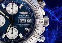 Breitling ska registrera alla sina nya klockor på en blockkedja