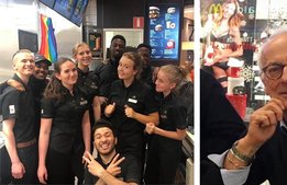 McDonalds första franchisetagare säljer sitt flaggskepp