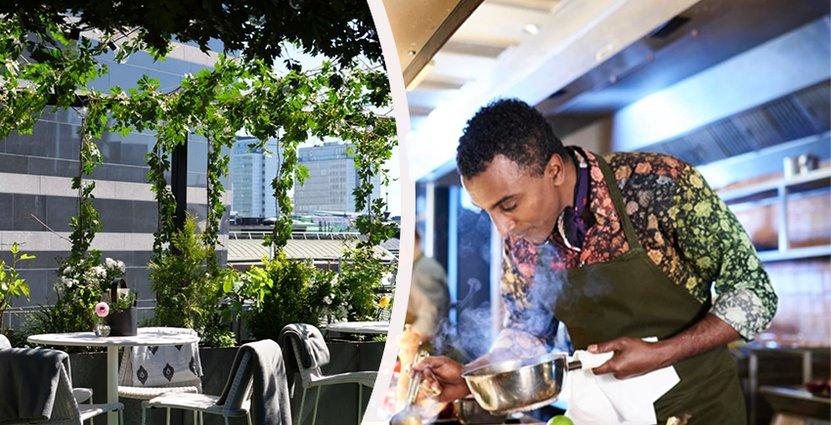 """Nästa vecka bjuder Marcus Samuelsson in<br />  till en """"Green Table Dinner"""" besående av den nya menyn. Foto: Pressbild Clarion Sign"""