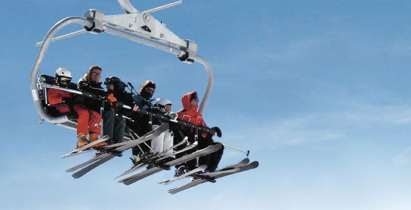 Järvsöbacken är en av Sveriges snabbast växande skidorter. Foto: Järvsöbacken (skiss)